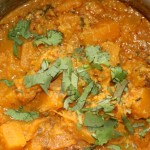 Pumpkin And Chicken Curry